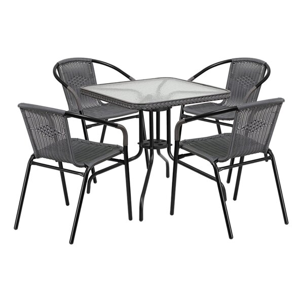 Gingerich 5 Piece Dining Set by Ebern Designs