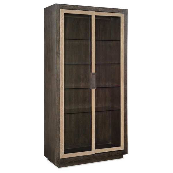 Point Reyes Miramar Voltaire Display Cabinet By Hooker Furniture by Hooker Furniture
