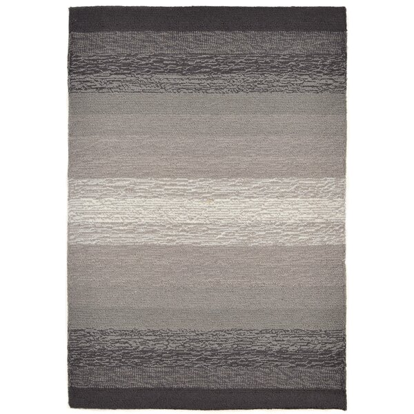 Clowers Ombre Grey Indoor/Outdoor Area Rug by Highland Dunes