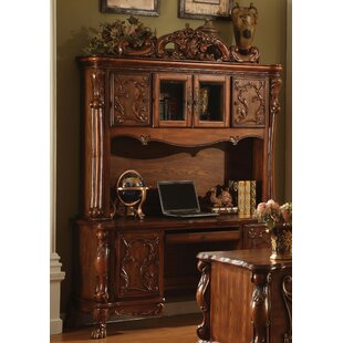 Makenzie Credenza desk with Hutch
