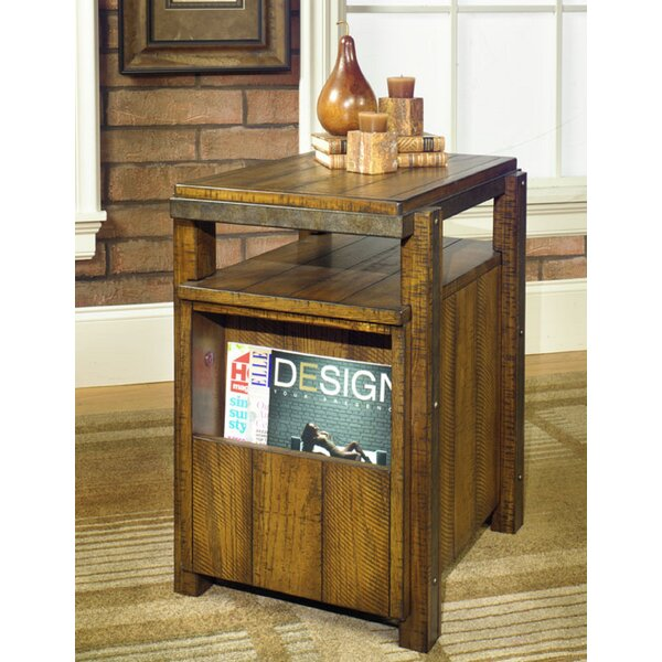 Tafoya Cabinet End Table by Loon Peak
