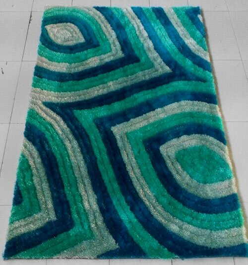 Light Blue Area Rug by Rug Tycoon