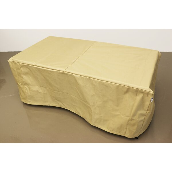 Rectangular Protective Fire Pit Cover by The Outdoor GreatRoom Company