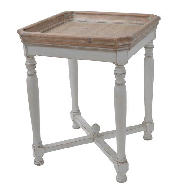 Jesup Square Shaped Wooden End Table by Ophelia & Co.