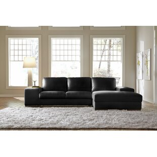 Sussex Leather Sectional