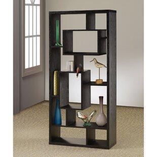 Faulkner Asymmetrical Geometric Bookcase