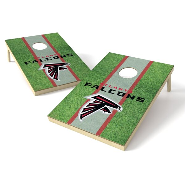 NFL Cornhole Board (Set of 2) by Tailgate Toss