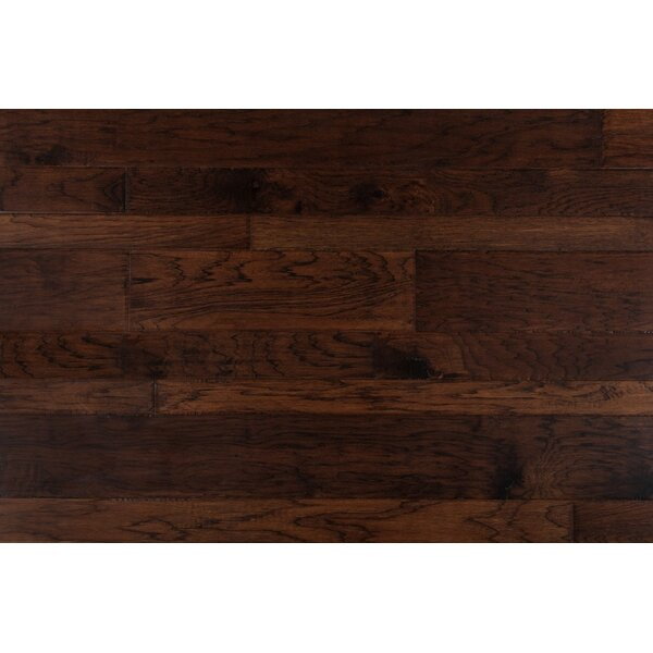 Latrobe 7 Engineered Hickory Hardwood Flooring in Santa Fe by Alcott Hill