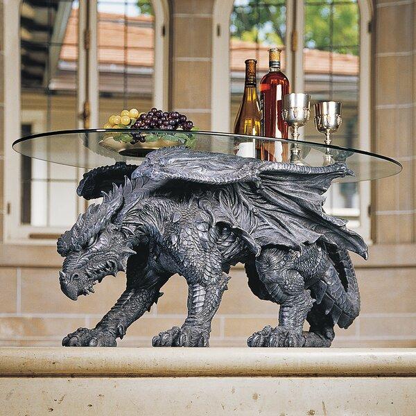 Warwickshire Dragon Coffee Table by Design Toscano Design Toscano