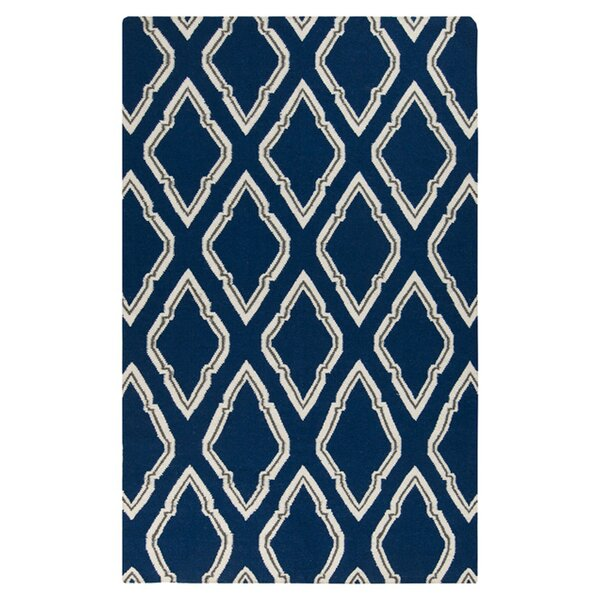 Fallon Blue/Ivory Area Rug by Jill Rosenwald Home