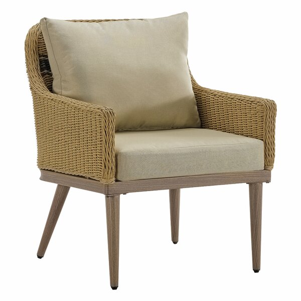Wynn Patio Chair with Cushions by Bayou Breeze