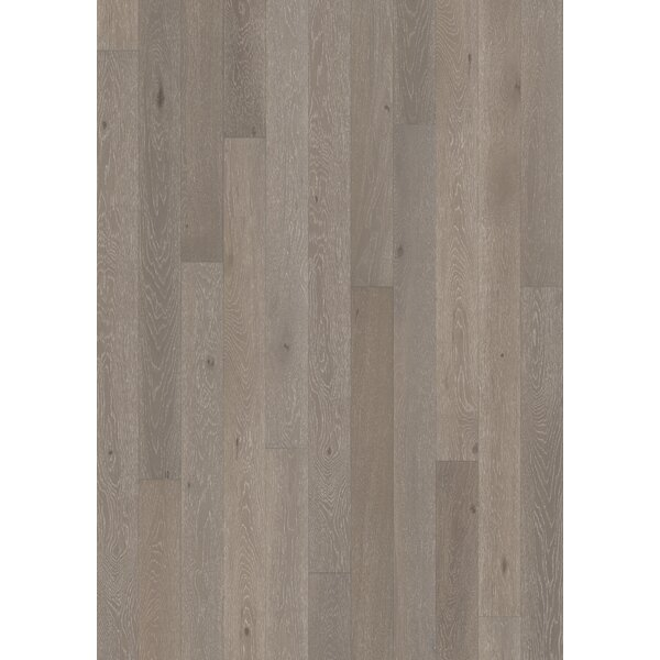 Canvas 5 Engineered Oak Hardwood Flooring in Gray by Kahrs