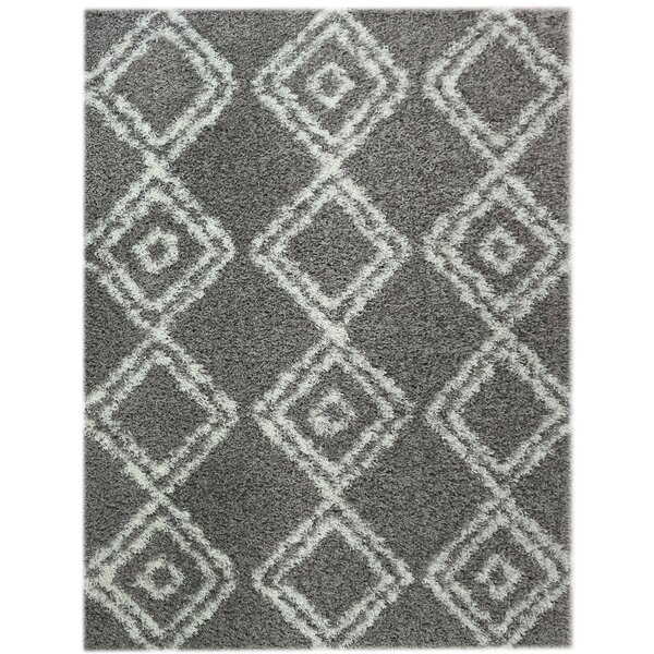 Gray/White Area Rug by Super Area Rugs