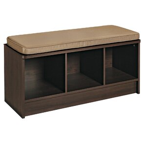 Cubeicals Upholstered Shoe Storage Bench