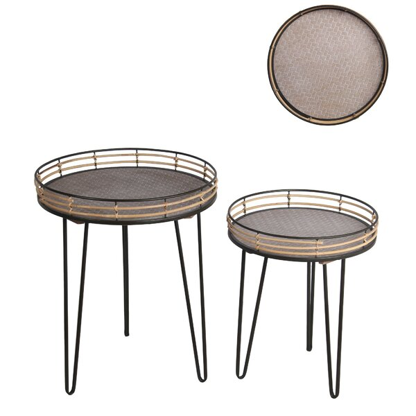 Alannah 3 Legs Nesting Tables By Union Rustic
