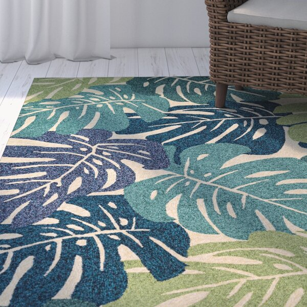 Beachcrest Home Totterdell Hand-Knotted Indoor/Outdoor Area Rug ...