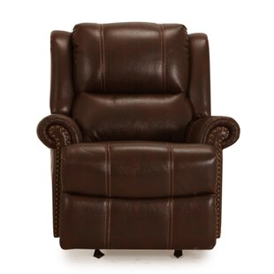 Creve Manual Rocker Recliner Red Barrel Studio