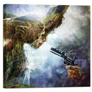 Betrayal by Mario Sanchez Nevado Graphic Art on Wrapped Canvas by Cortesi Home