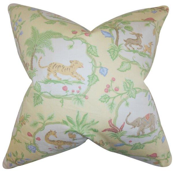 Deniece Floral Floor Pillow by Bloomsbury Market