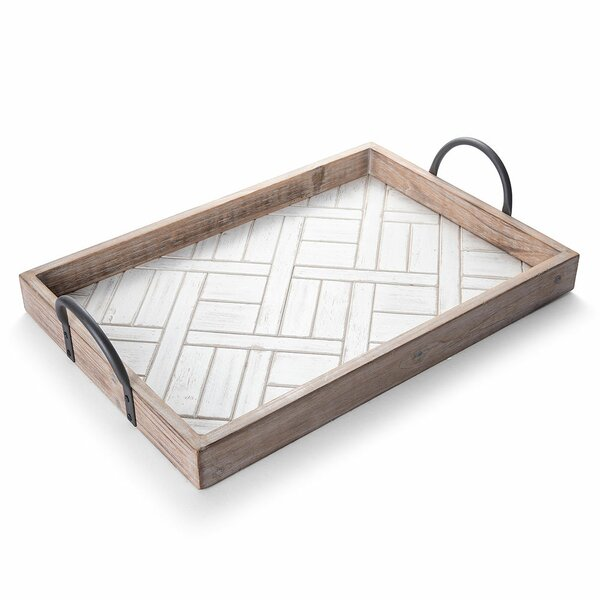 Berkley Paraguay MDF Wood Ottoman Tray by Foundry Select