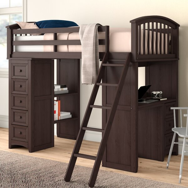 Nickelsville Student Twin Bed with Drawers by Three Posts Baby & Kids