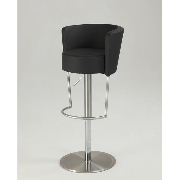 Sareah Adjustable Height Bar Stool by Orren Ellis