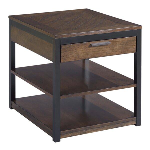 Huntsberry End Table with Storage by Brayden Studio Brayden Studio