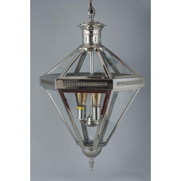 3 - Light Lantern Geometric Chandelier by Fashion N You by Horizon Interseas Fashion N You by Horizon Interseas
