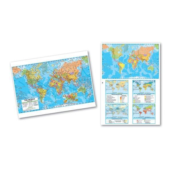 Advanced Political Deskpad - World by Universal Map