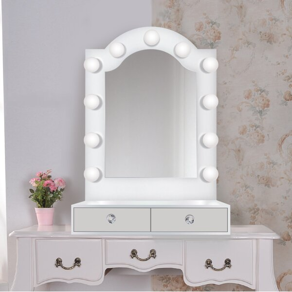 Laleia LED Lighted Vanity Mirror by Symple Stuff