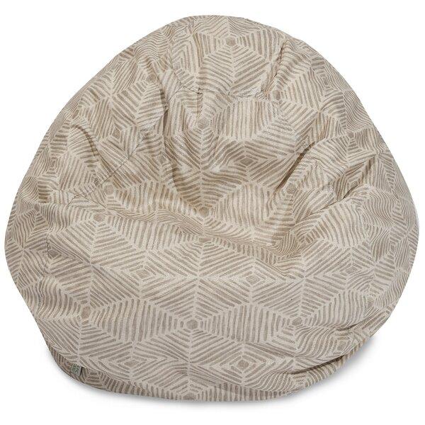 Ashby Medium Cotton Twill Bean Bag Chair & Lounger By Trule Teen