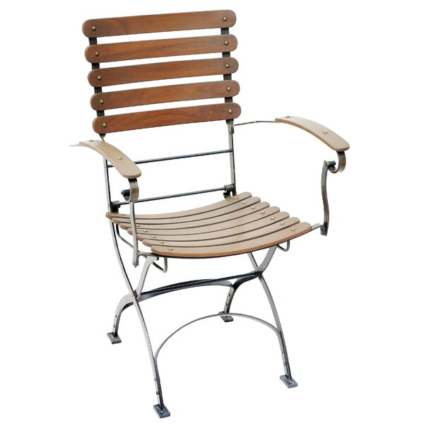 Toscana Folding Teak Patio Dining Chair by Casual Elements