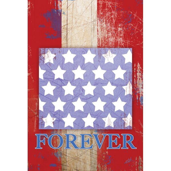 Stars and Stripes Forever Garden flag by Toland Home Garden