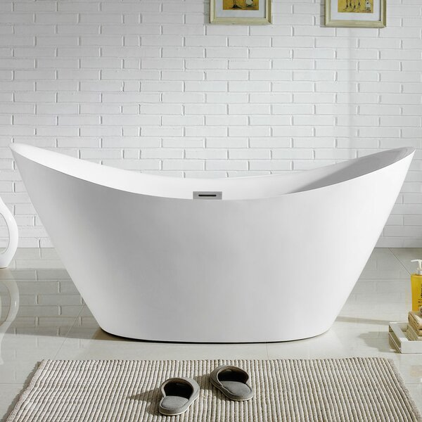 Riviera 67 x 38 Soaking Bathtub by Pacific Collection