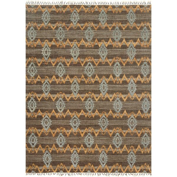 Bentonville Hand-Woven Brown/Gray Area Rug by Foundry Select