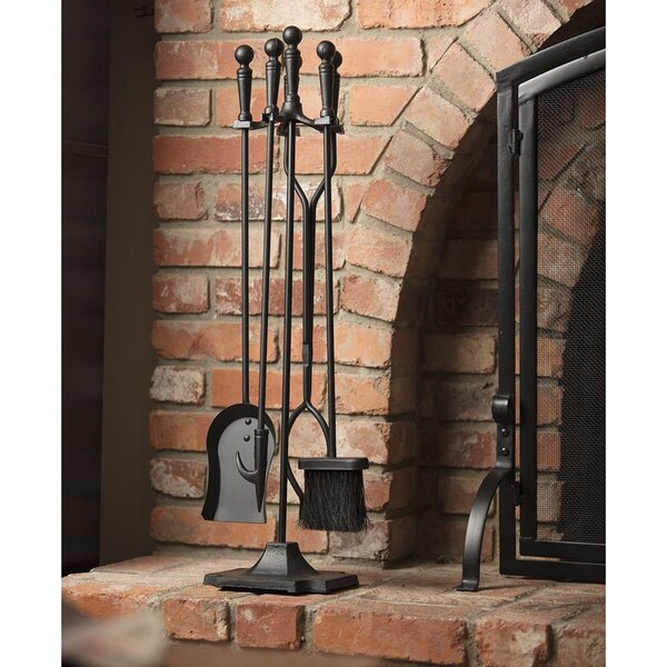 Echeverria 5 Piece Fireplace Tool Set By Millwood Pines