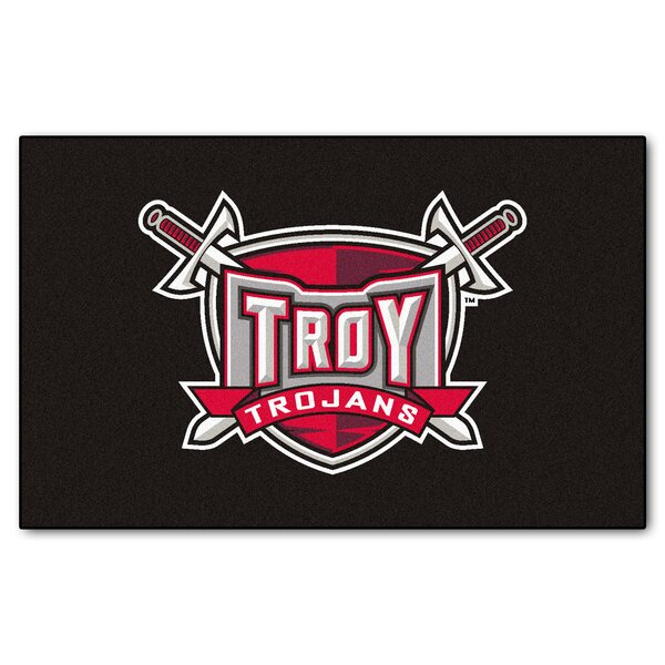 Collegiate NCAA Troy University Doormat by FANMATS