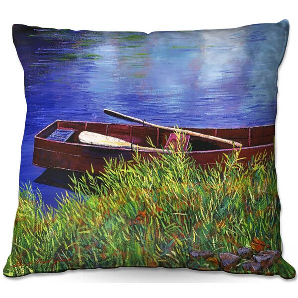 East Urban Home Couch The Red Rowboat Throw Pillow Wayfair