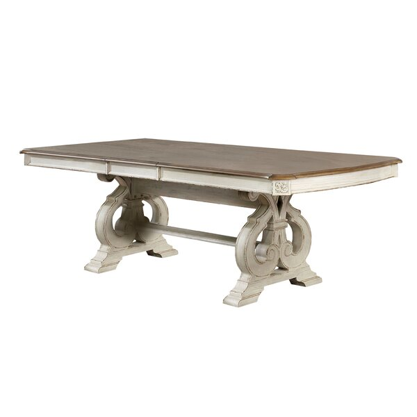 Frisbee Extendable Dining Table by Ophelia & Co. Ophelia & Co.