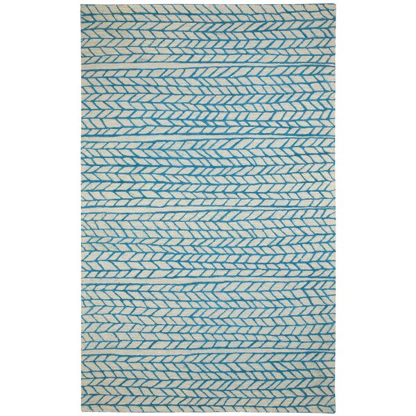 Spear Beige Blue Area Rug by Capel Rugs