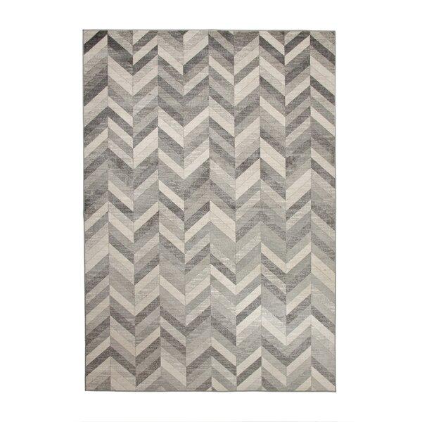 Becker Silver/Gray Area Rug by Corrigan Studio