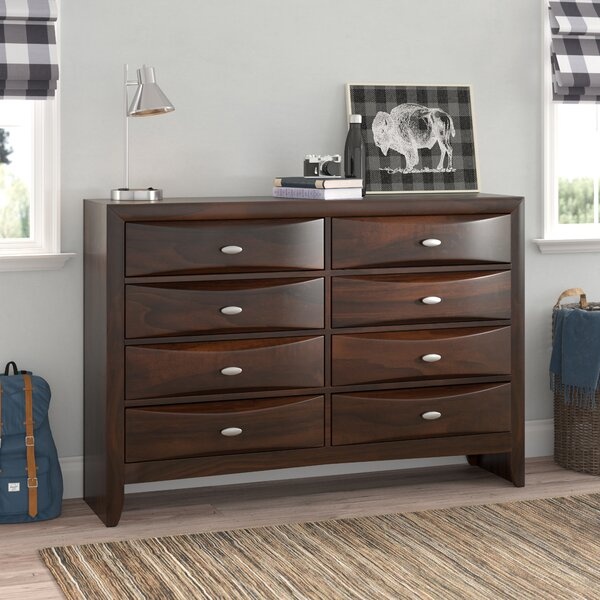 Amazing Alidge 8 Drawer Double Dresser By Grovelane Teen 2019 Coupon