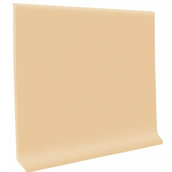 0.13 x 48 x 4 Cove Molding in Camel (Set of 30) by ROPPE