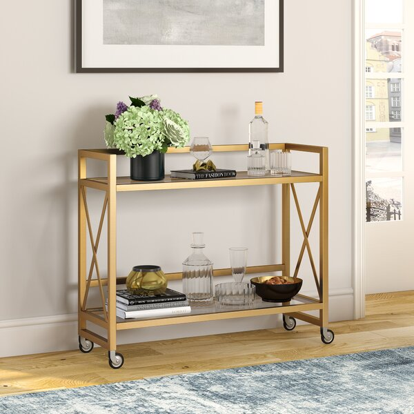 Creola Bar Cart By Mercer41