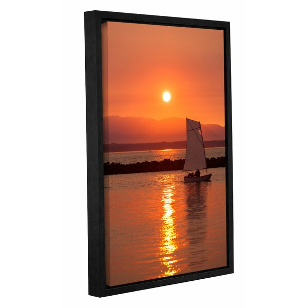 Sailors Solitude 2 Framed Photographic Print on Wrapped Canvas by Breakwater Bay