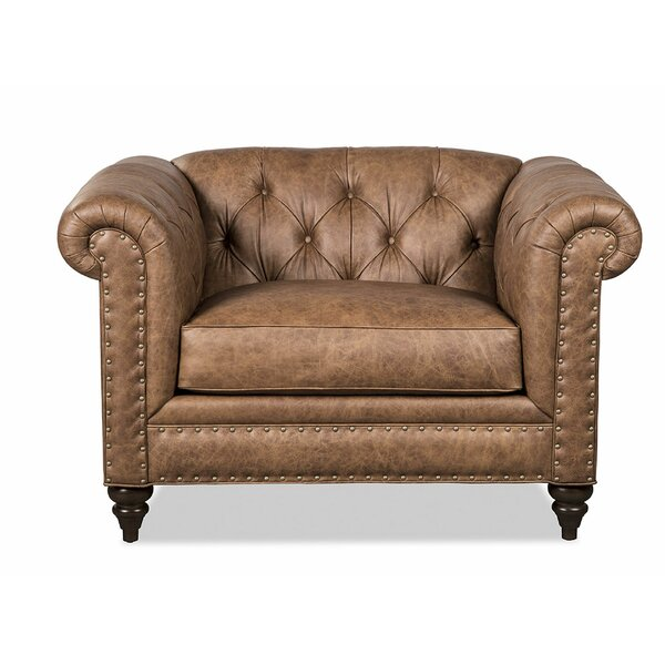 Steel Whiskey Chesterfield Chair By Craftmaster