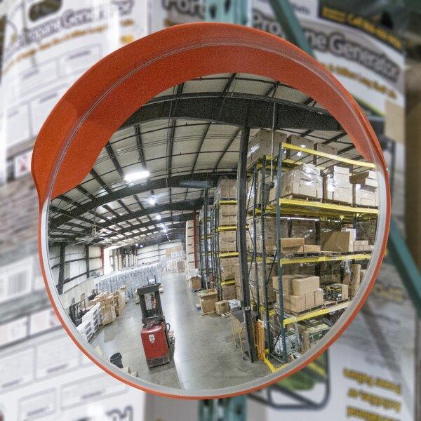 Stemple Convex Safety Accent Mirror by Brayden Studio