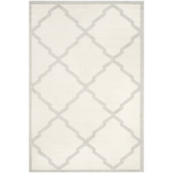 Maritza Geometric Beige/Light Grey Area Rug by Willa Arlo Interiors