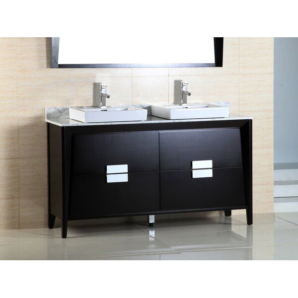 60 Double Sink Vanity Set by Bellaterra Home