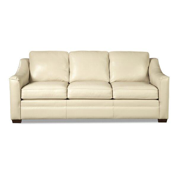 Patio Furniture Pearce Leather Sofa Bed
